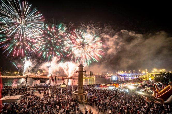 IX Międzynarodowy Festiwal Sztucznych Ogni Pyromagic.