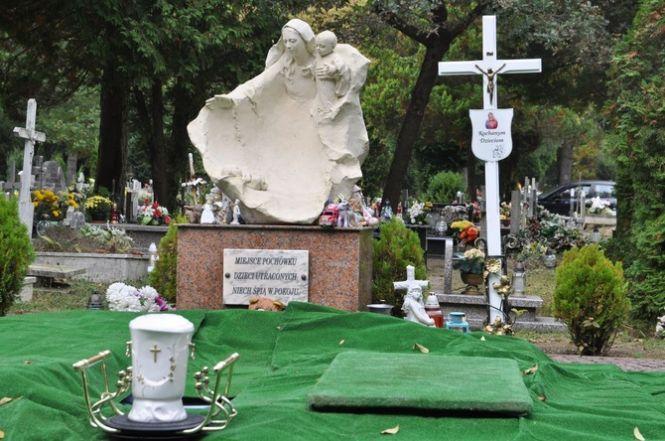 Pogrzeb dzieci utraconych w Dniu Dziecka Utraconego w Koszalinie