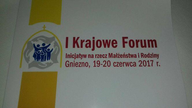 I Krajowe Forum Inicjatyw na rzecz Małżeństwa i Rodziny