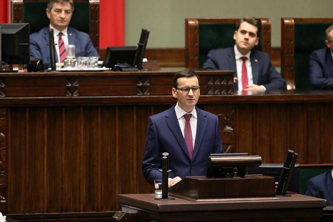 """Premier Mateusz Morawiecki zapowiedział program """"Mosty+"""" we wtorek."""