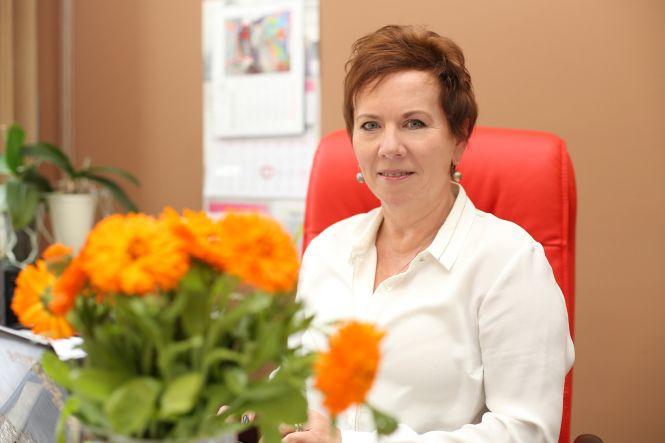 Krystyna Berdyńska, dyrektorka Domu Pomocy Społecznej w Bornem Sulinowie